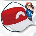 2016 Nova Moda Anime Pokemon IR XYZ ASH KETCHUM Treinador Cosplay Hat Cap PoP de Alta Qualidade