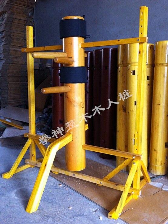 Fedex/DHL Chinois équipements d'arts martiaux Ip Man Wing Chun En Bois Factice ensembles Cadre design Personnalisé avec beaucoup de livraison cadeaux