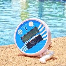 Pool accessores Aqua pool rengöringsverktyg lcd termometer Gratis frakt
