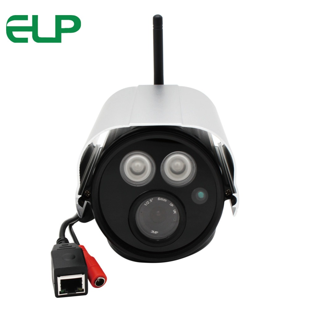 цена на Outdoor water proof 720P HD wireless wifi long distance ir 50m night vision bullet cctv security network ip camera