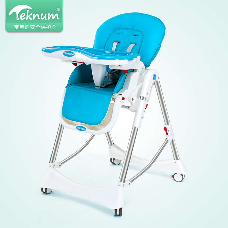 Teknum baby dining chair foldable multi-purpose portable child baby eating dinner on eating