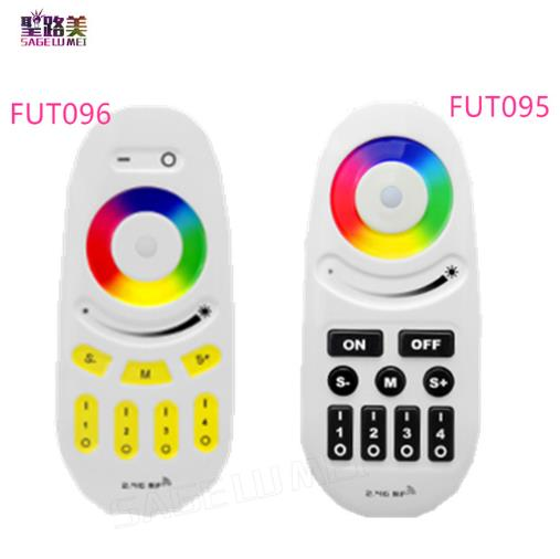 Mi Light 2.4G 4-Zone FUT095 <font><b>FUT096</b></font> RGB RGBW LED Controller Button/Touch RF Wireless Remote for MiLight LED Bulb Strip lamp Light image