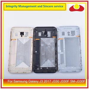 Image 2 - Original For Samsung Galaxy J3 2017 J330 J330F SM J330F Housing Battery Door Rear Back Cover Case Chassis Shell J330 Replacement