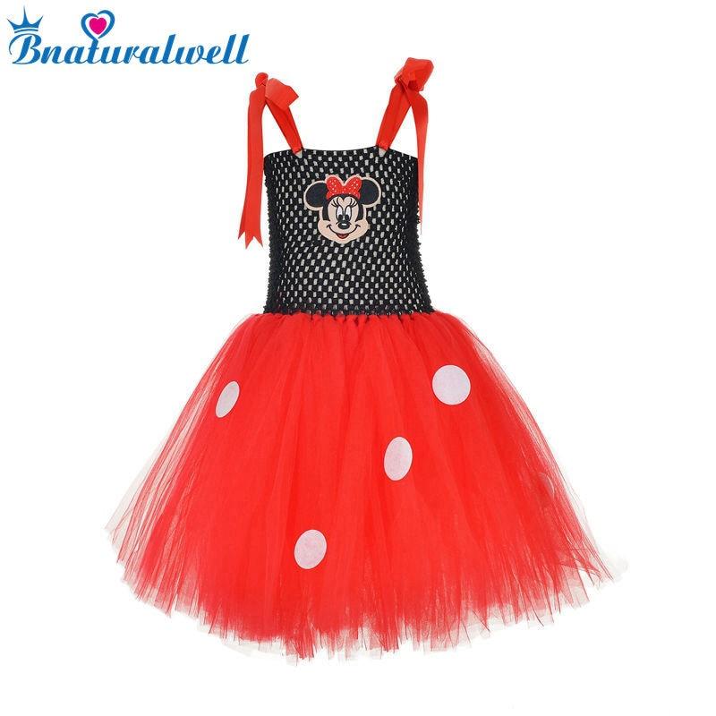 Red MINNIE MOUSE dress Child girl's TUTU dress Party Red Polka Dot dress 1st Birthday party Toddler girl dress AA003K wrap knot polka dot split dress