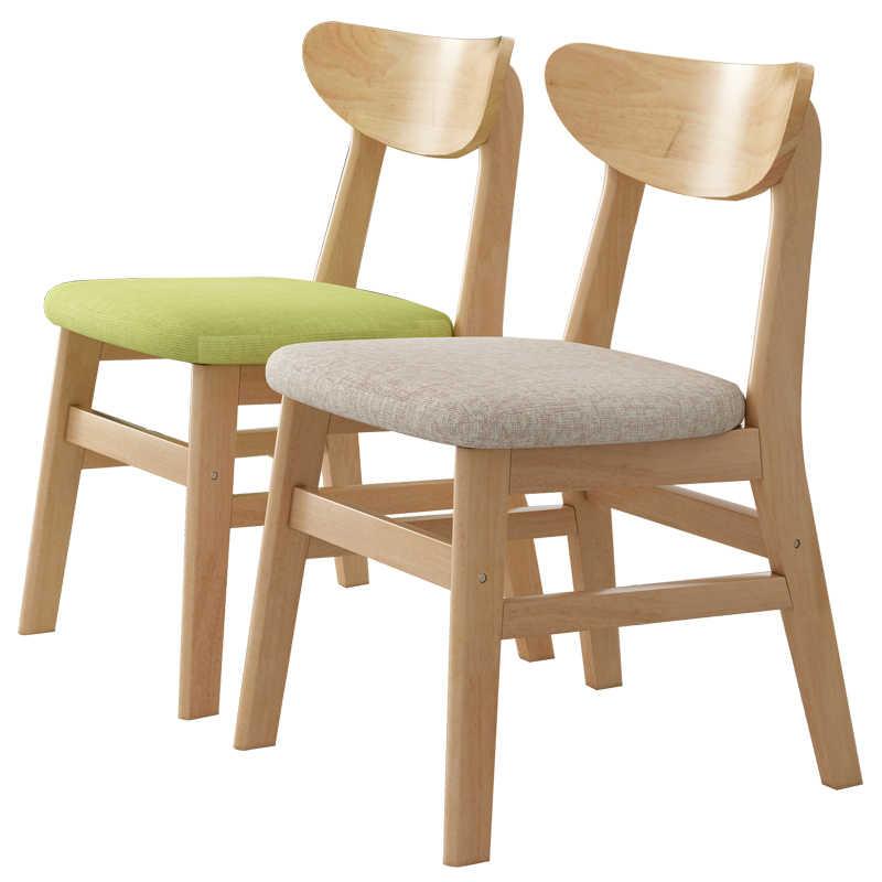 Cadeira de jantar em madeira maciça cadeira do computador cadeira de estudo Nordic minimalista e moderno restaurante cadeira mesa home poltrona lazer fezes