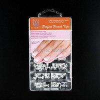 128 x short weiß Französisch Nail art Wrap Tipps Professionelle Salon Maniküre Perfekte Französisch Nägel