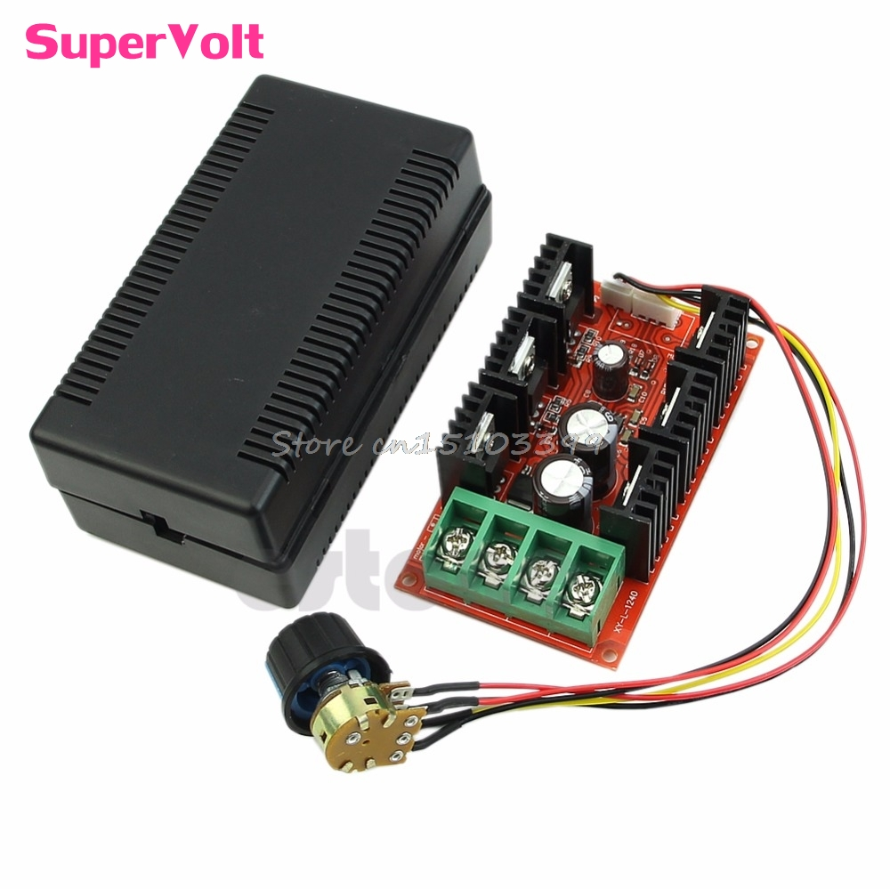 2000W MAX 10-50V 40A DC Motor Speed Control PWM HHO RC Controller 12V 24V 48V G08 Drop ship 20a universal dc10 60v pwm hho rc motor speed regulator controller switch l057 new hot