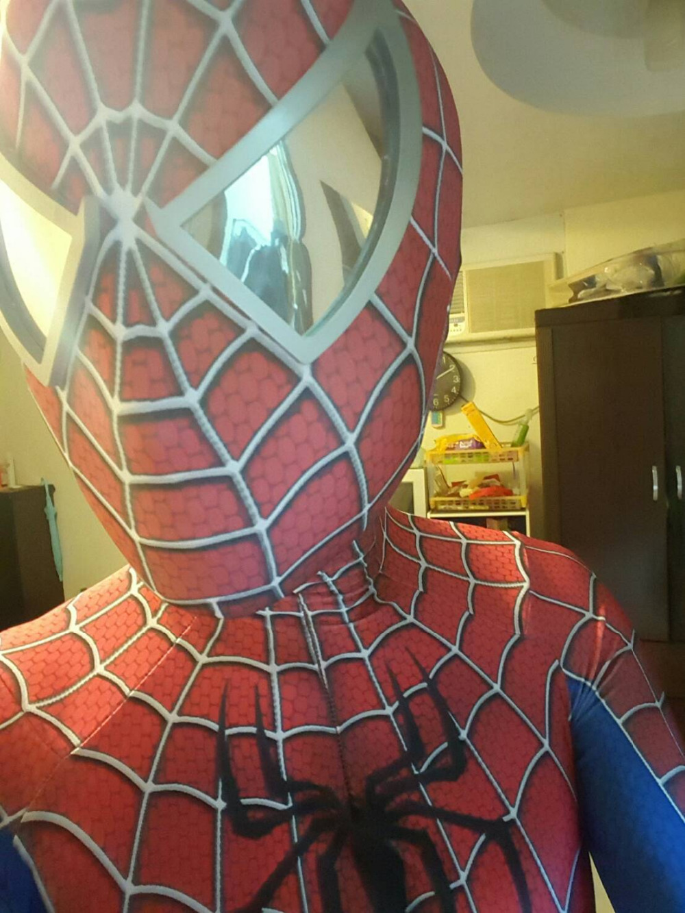 2018 Iron Spider Suit Spiderman Homecoming 3D Spand Toby Amazing Spiderman Adult Costume 3D Spandex Zentai Suit Tight for Coser