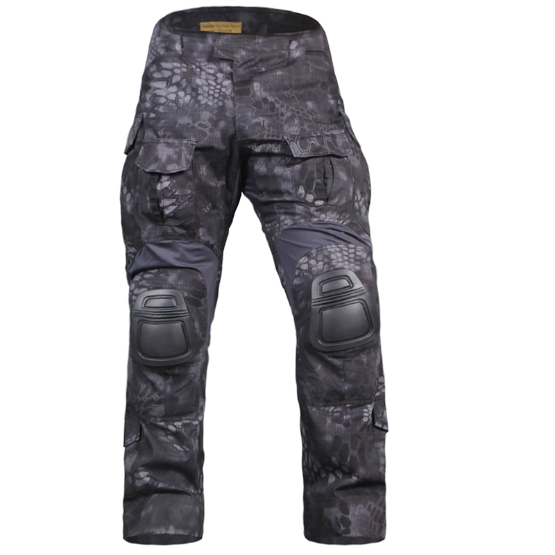 Kryptek Typhon Emerson G3 Pants with pads pads