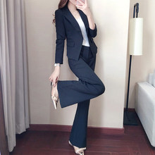 Spring and Autumn Women's Small Suit Set 2019 New Korean Pro