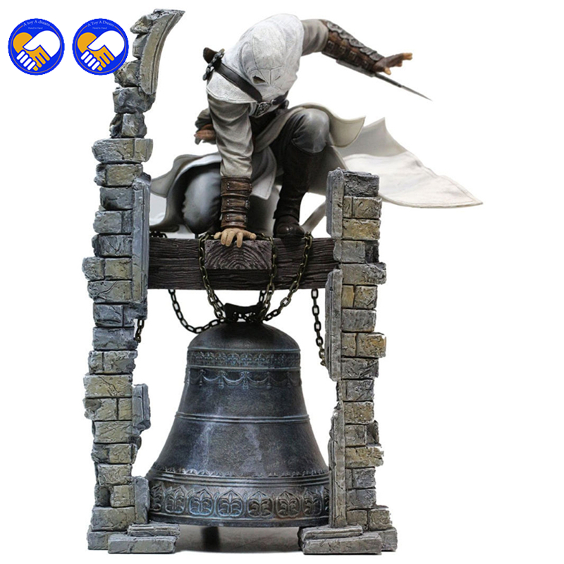 A toy A dream NEW hot 28cm Assassins Creed Altair Ibn-La Ahad Edward Action figure toys doll collection Christmas gift with box