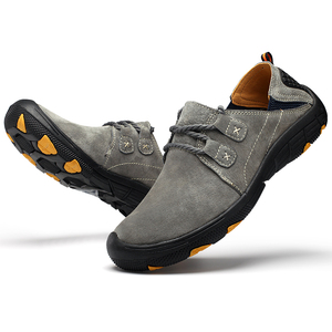 Image 4 - Mynde חדש אמיתי עור נעליים יומיומיות גברים ופרס זמש גברים נעליים לנשימה חיצוני אימון נעלי הליכה Zapatos סניקרס