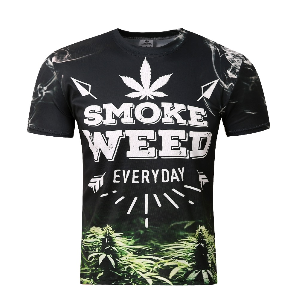 Popular Weed T Shirts-Buy Cheap Weed T Shirts lots from China Weed ...