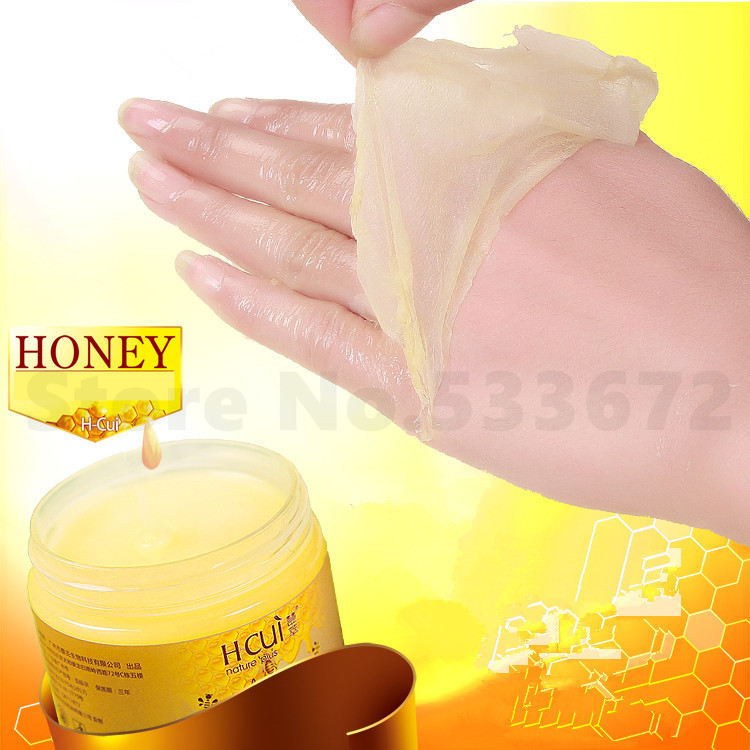 Honey hand peel off mask remove dead skin beauty products - Masque peel off maison ...