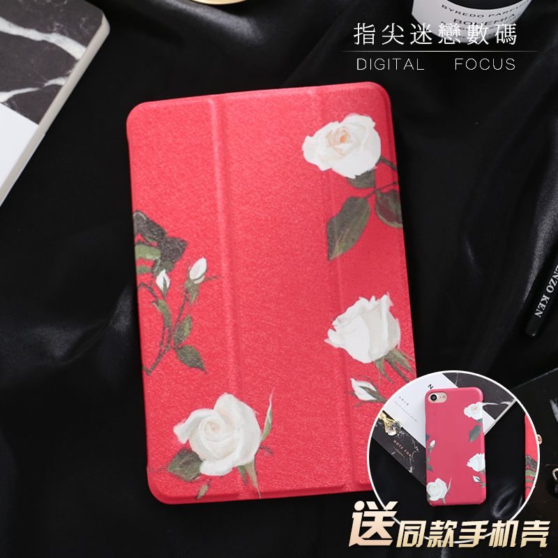 Rose Mini4 Mini2 Mini3 Flip Cover For iPad Pro10.5 9.7 Air Air2 Mini 1 2 3 4 Tablet Case Protective Shell for ipad 2017 10.5 mercury goospery leather fancy diary wallet flip case cover for ipad 2 3 4 rose yellow