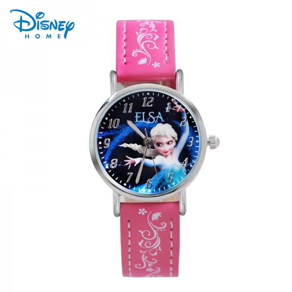 100% Genuine Disney Frozen Brand watches Elsa Princess child Fashion Watch Women Quartz-Watch watch Women girls 95010-2