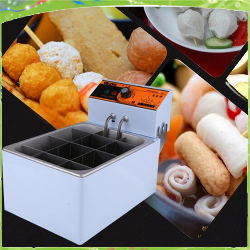 electric Oden machine even cooking stove to cook string of incenses Spicy Meatball Machine Equipment dmwd spicy hot pot electric skewer heating machine string incenses oden cooking stove commercial stick food noodles cooker 10l