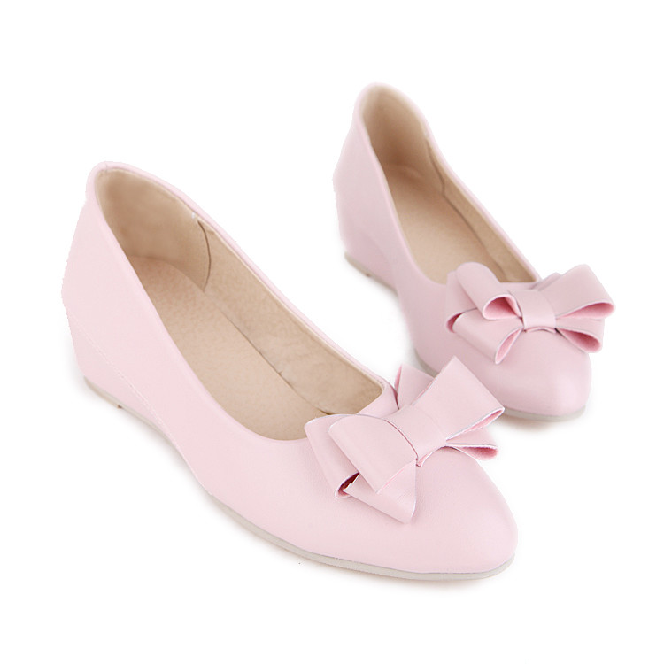 ФОТО 2017 Time-limited Oxford Shoes For Women Big Size 35-47 Flat Shoes Ladies Ballet Casual Mother Women Pu Flats High Quality 8-10