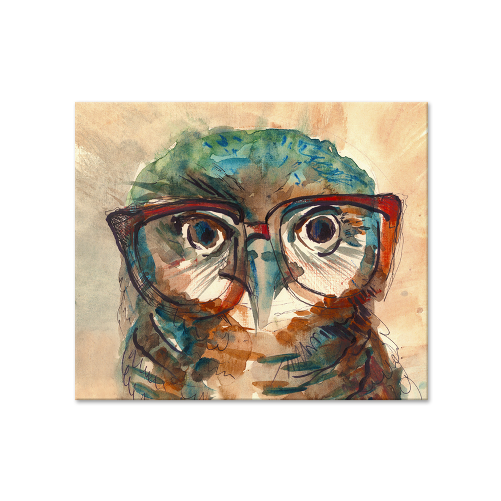 Diamond Painting Oil Owl Diamont Canvas Art Wall