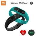 Original xiaomi mi banda 2 band1 inteligente pulseira pulseira miband 2 rastreador de fitness monitor de freqüência cardíaca android pulseira smartband