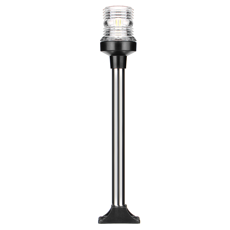 Image 2 - 12V Marine Boat Foldable White Anchor Light 360 Degree All Round Navigation Lamp 318mm-in Marine Hardware from Automobiles & Motorcycles