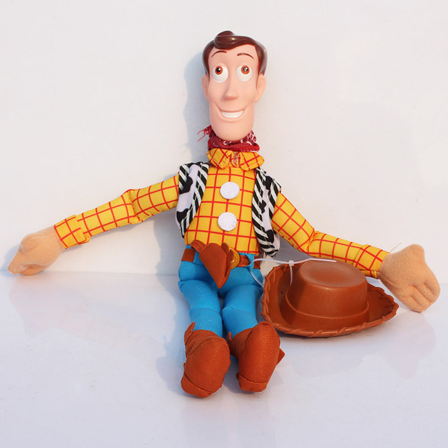 "5pcs/lot Free Shipping 16"" Toy Story Woody Plush Toy Figure Toy Soft Stuffed Doll Hot Sale Girls for Children Boys Toys"
