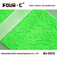 MJ-D012M frosted kết cấu cán pin bánh trang trí rolls roller cụ fondant nhạc rolling pin bánh con lăn