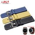 Free shipping 26MM Garmin Derek Fenix 3 watch band 9 colours  Leather Watchband  Genuine Leather Strap