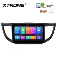 10.1 Android 7.1 Multimedia System Car Stereo Radio Player RCA GPS Wifi NO DVD For HONDA CRV 2012 2013 2014 2015 2016