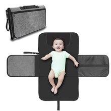 Детский Пеленальный матрас портативный моющийся подгузник чейнджер детская Пеленка-подкладка коврики для игры в пол матрас в коляске водонеприницаемое одеяло для детей