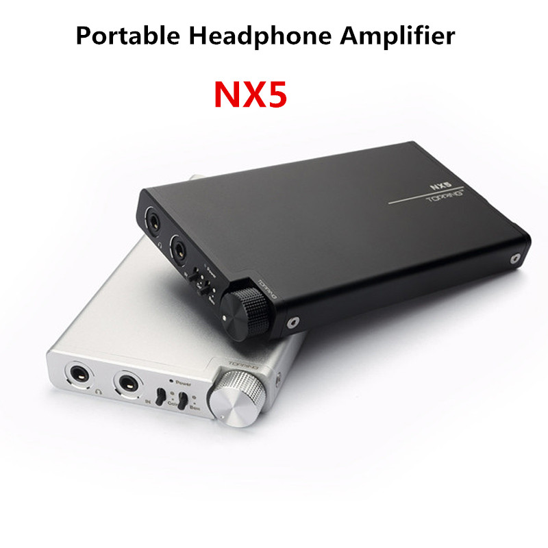 TOPPING NX5 Mini Portable Headphone Amplifier with AD8610+ BUF634 chip HIFI Digital Stereo Audio amplificador de fone de ouvido