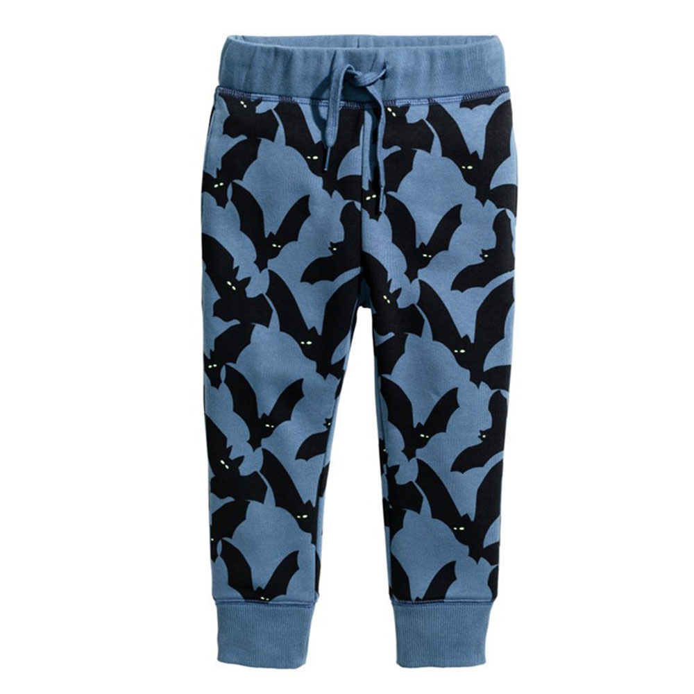 Baby Boys Sweatpants Cotton Cartoon Print Autumn