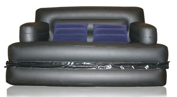 Foldable Inflatable Sofa Leather