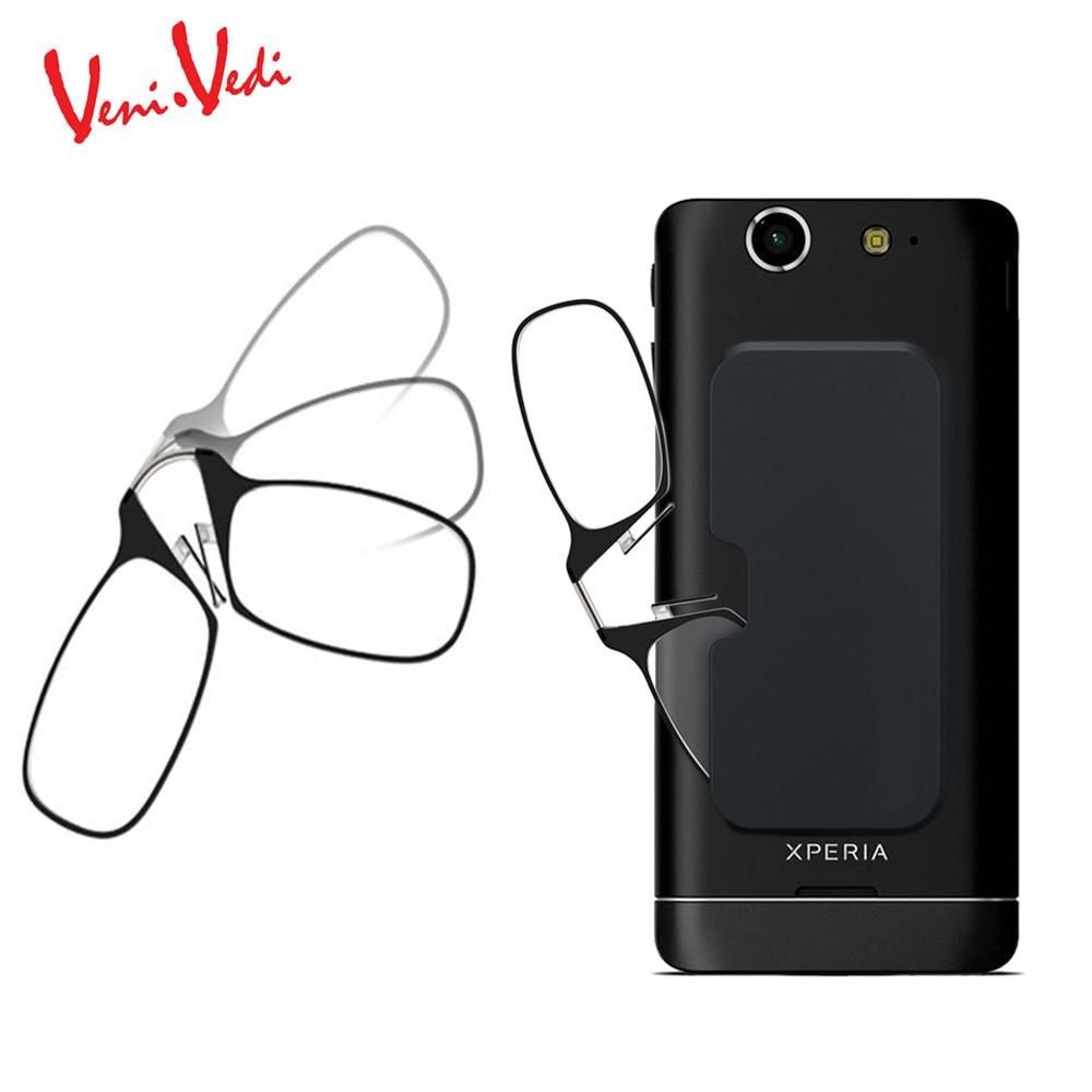 H Veni. Vedinew TR90 clip nez lunettes de lecture vieux hommes SOS lunettes Ultra-mince lunettes femmes oculos de grau leesbril