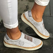 Puimentiua White Women Shoes Flats Casual Shoes 2019 Fashion Mesh Women Sneakers Platform Flats Spring Summer Lace-up Breathable