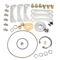 37pcs Turbo Turbocharger Turbo Charger Repair Kit for Rebuild Gasket Bolt Set Car Vehicles Repairing Tool Journal Bearing Type