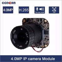 H 265 4MP 1 3 OV4689 CMOS Sensor Hisilicon 3516D Processor IP Camera Module Board CCTV