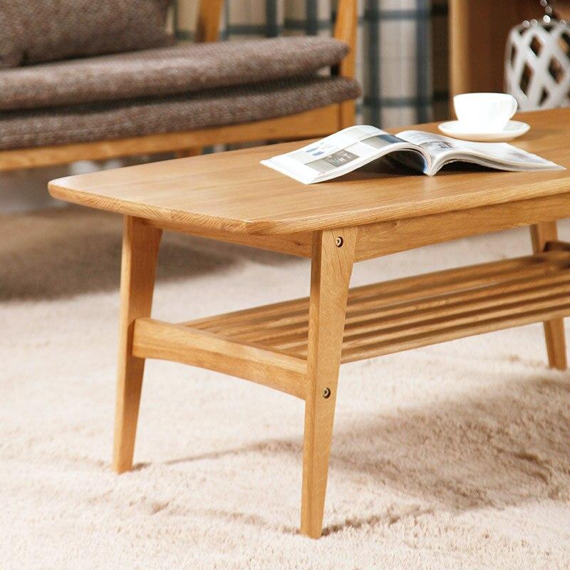 Japanese Style Tea Table Nordic Oak Wood Modern Simple Coffee