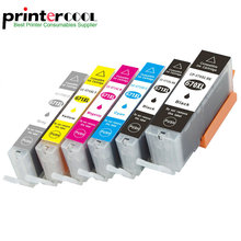 Einkshop 6pcs Compatible PGI-670 CLI-671 Ink Cartridge For Canon PIXMA MG5760 MG5765 MG5766 Printer PGI670