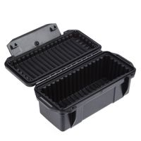 High Quality 20 10 8cm Waterproof Shockproof Box Airtight Sealed Case Equipment Portable Dry Container Carry