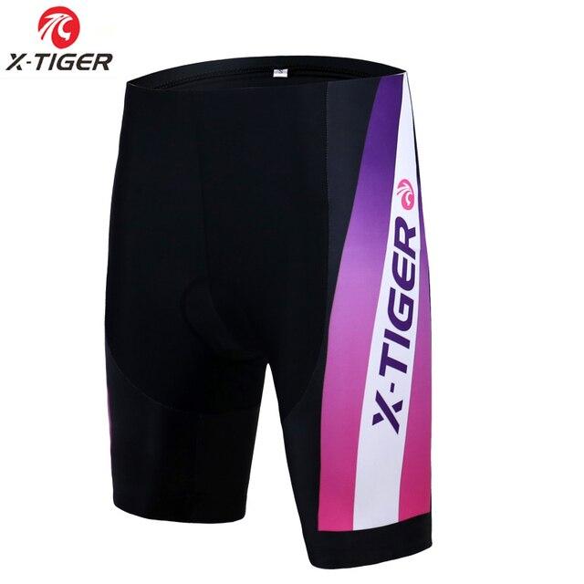 Women Cycling Shorts Silica Gel Padded Shockproof MTB Mountain Bike Underwear