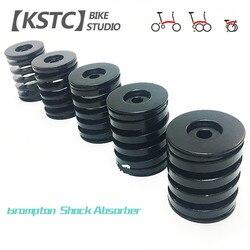 4 rozmiar składany tylny amortyzator rowerowy dla brompton sprężyna amortyzatora rowerowego carbon