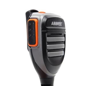 Image 3 - 2PCS Abbree AR 780 2 Pin PTT Remote Waterproof Speaker Mic for Radio Kenwood TYT Baofeng Walkie Talkie TH UV8000D MD 380 Radio