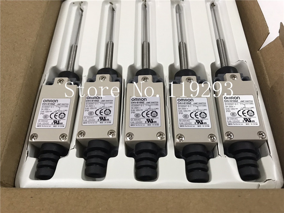 [ZOB] 100% brand new original authentic OMRON Omron limit switch D4V-8169Z factory outlets  --5PCS/LOT brand new original genuine switch bns303 12z