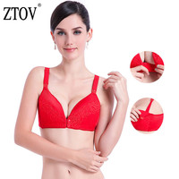 ZTOV 2018 Breastfeeding Underwear Maternity Nursing bra Lace Pregnancy clothes bra for Pregnant women Breast Feeding Clothing D Maternity & Nursing Bras