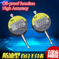Digital Dial Indicator Meter IP54 Oil Proof 12 7mm 0 5 Electronic Micrometer Carbide Tip Precision