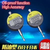 Digital Dial Indicator Meter IP54 Oil Proof 12 7mm 0 5 Electronic Micrometer Carbide Tip Precision