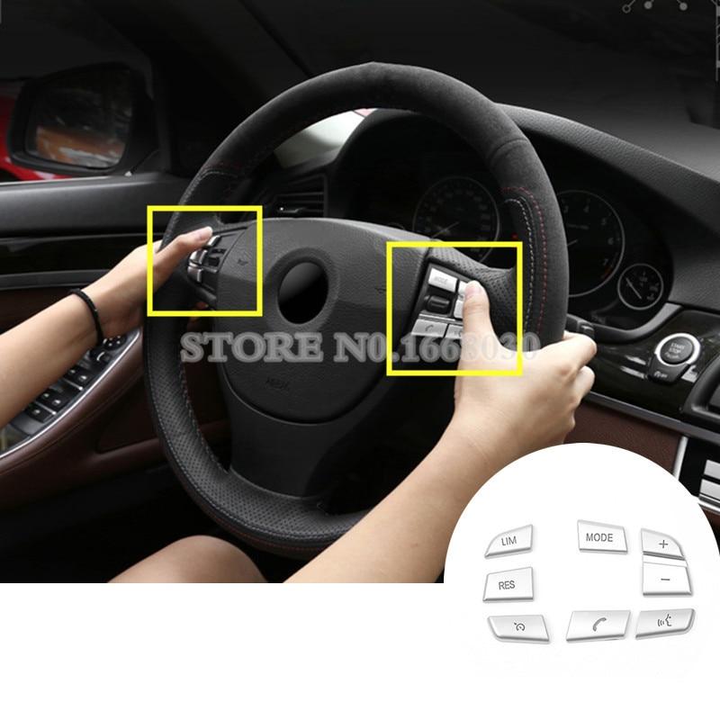 2015 Lincoln Mks Camshaft: Aliexpress.com : Buy 7pcs Inner Steering Wheel Button Trim
