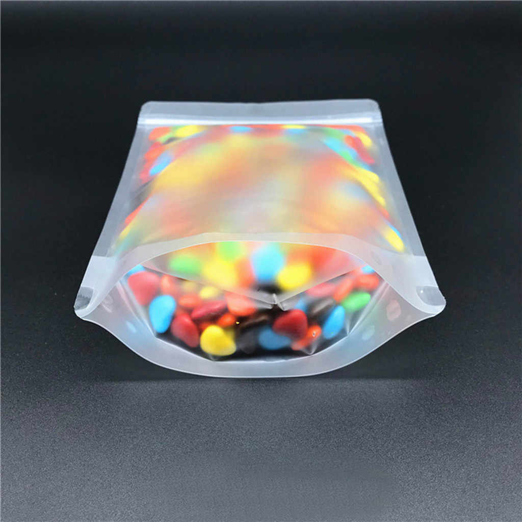 100pc Reusable Sealed Food Storage Bag Vacuum Sealing Machine Fruit Meat Milk Storage Bag Kitchen Accessories K20