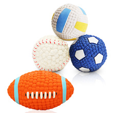 Dog Toys Bite Resistant Cleaning Teeth Molar Funny Training Ball Outdoor Traning Fun Playing Puppy